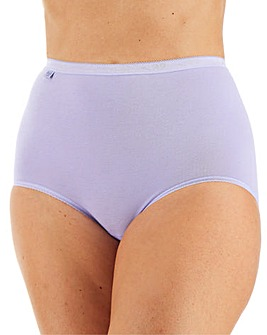Sloggi 6Pack Basic Maxi Briefs, Brights or Pastels