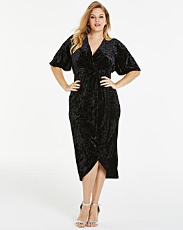 Joanna Hope Black Velvet Maxi Dress