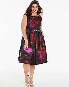Joanna Hope Jacquard Prom Dress