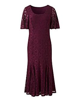 Joanna Hope Lace Midi Dress
