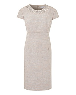 Joanna Hope Embellished Glitter Dress