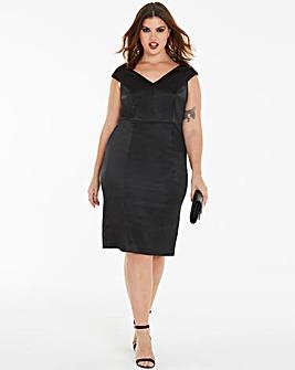 Joanna Hope Sateen Bodycon Dress