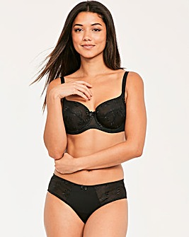 Panache Tango II Underwired Black Balcony Bra