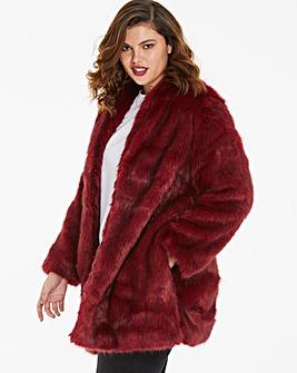 Joanna Hope Faux Fur Coat