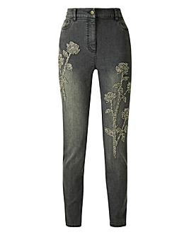 Joanna Hope Embellished Jean