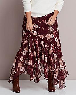 Joanna Hope Ruffle Maxi Skirt