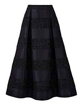 Joanna Hope Stripe Prom Skirt