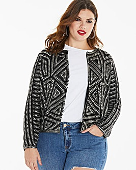 Joanna Hope Embellished Jacket