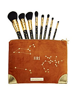 Spectrum Zodiac Fire Brush & Bag Set