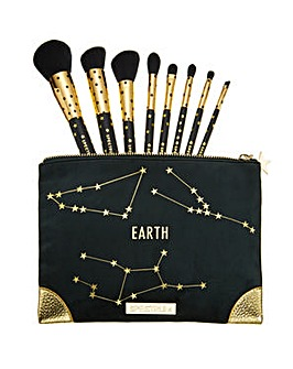 Spectrum Zodiac Earth Brush & Bag Set