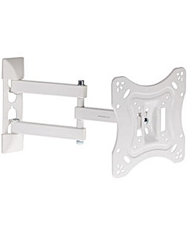Proper Swing Arm TV Bracket White 23-55""