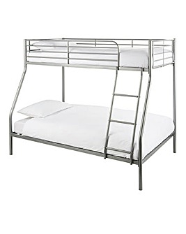 Oscar Metal Trio Bed with Mattresses
