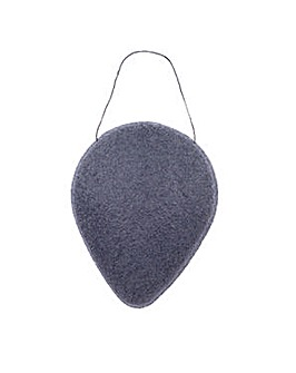 Brush Works Konjac Charcoal Clay Sponge