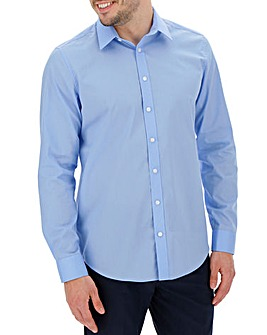 Sky Long Sleeve Forward Point Collar Shirt Long
