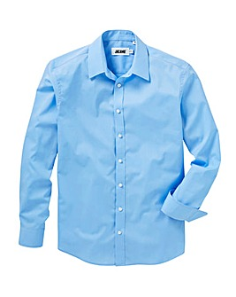 Sky Long Sleeve Forward Collar Shirt
