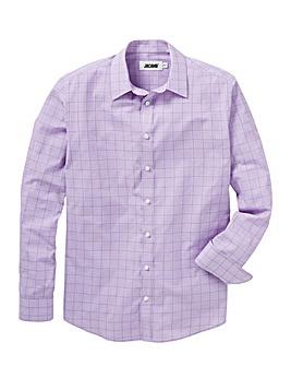 Lilac Long Sleeve Formal Shirt Long