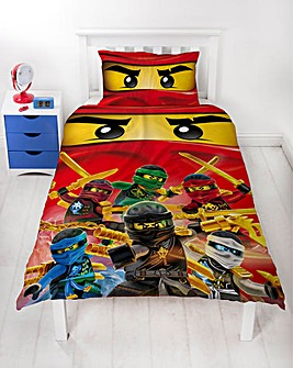 Lego Ninjargo Single Panel Duvet