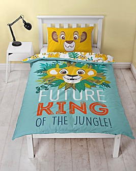 Lion King Hakuna Single Panel Duvet