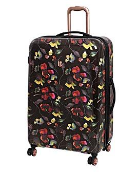 it Luggage Black Imprint Large Case