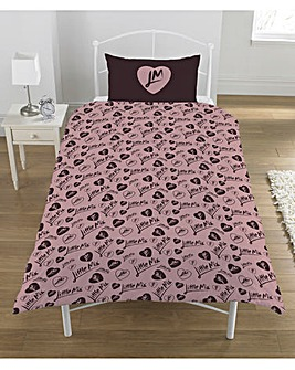 Little Mix Reversible Single Duvet