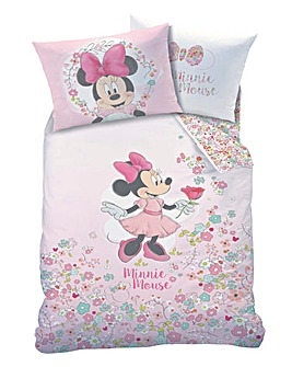 Minnie Mouse Bloom Single Duvet