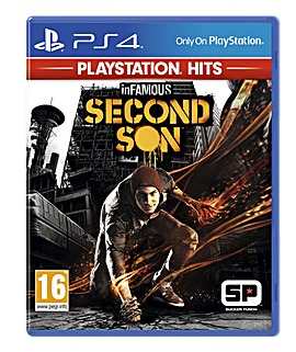 Infamous Second Son HITS Range PS4