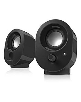 SPEEDLINK Snappy USB Black Speakers