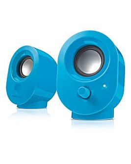 SPEEDLINK Snappy USB Blue Speakers