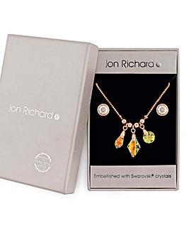 Jon Richard Swarovski Jewellery Set