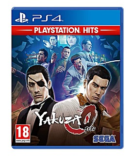 Yakuza 0 HITS Range PS4
