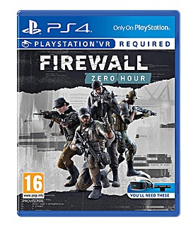 Firewall Zero Hour PS4 VR Game