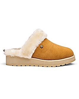 Skechers Real Suede Mule Slippers