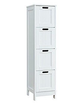 Colonial 4 Drawer Unit