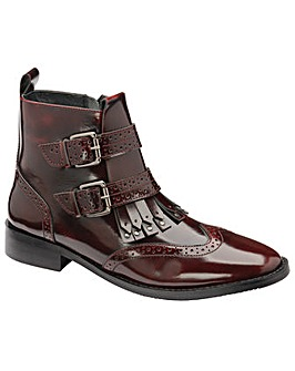 Ravel Valdez High Shine Ankle Boots