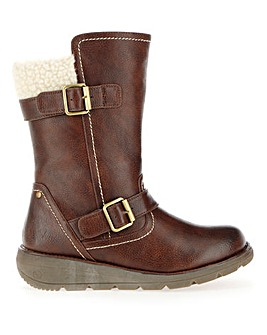 Heavenly Feet Mid Boots Wide E Fit