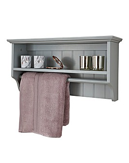 Colonial Towel Rail Shelf