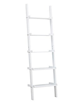 5 Tier Wall Ladder Shelf