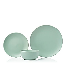 Sage Stoneware 12 Piece Dinner Set