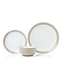 Gloss 12 Piece Stoneware Dinner Set