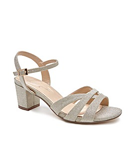 Paradox London Latifa Wide E Fit Sandals