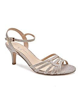 Paradox London Laurie Wide E Fit Sandals