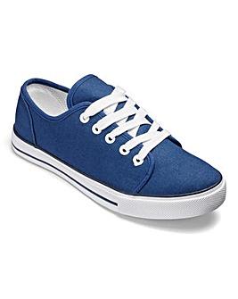 Dunlop Canvas Lace Up Shoes E Fit