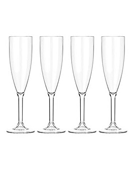 Lay-Z-Spa Acrylic Champagne Flutes