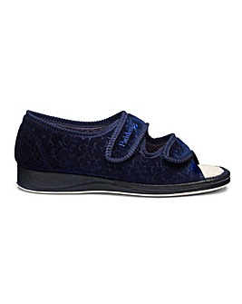 Padders Touch and Close Slippers Wide E Fit
