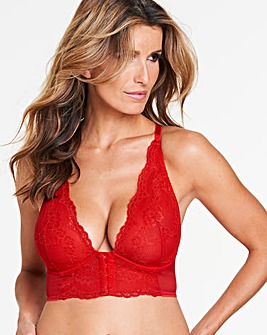Gossard Superboost Longline ChilliRed Br