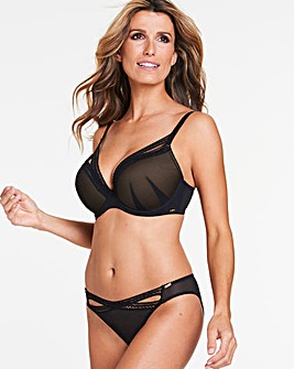 Gossard Sheer Seduction Padded Plunge Bra