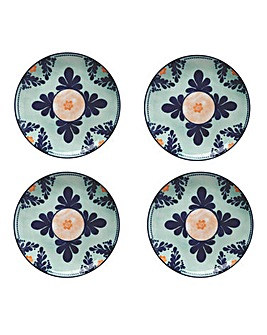 Maxwell & Williams Majolica Plates Teal