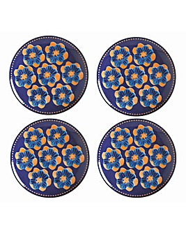 Maxwell & Williams Majolica Plates Blue