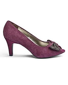 Lotus Peep Toe Shoes E Fit