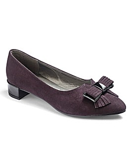 Footflex by Lotus Bow Shoes EEE Fit
